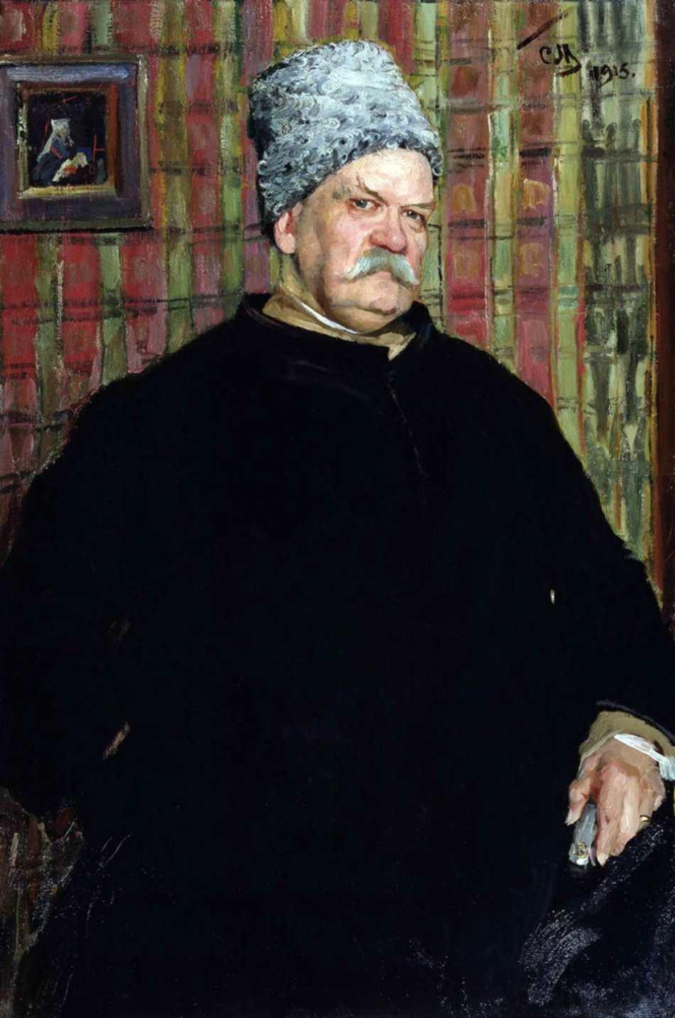 Сергей Васильевич Малютин (1859 – 1937). Портреты деятелей русской культуры