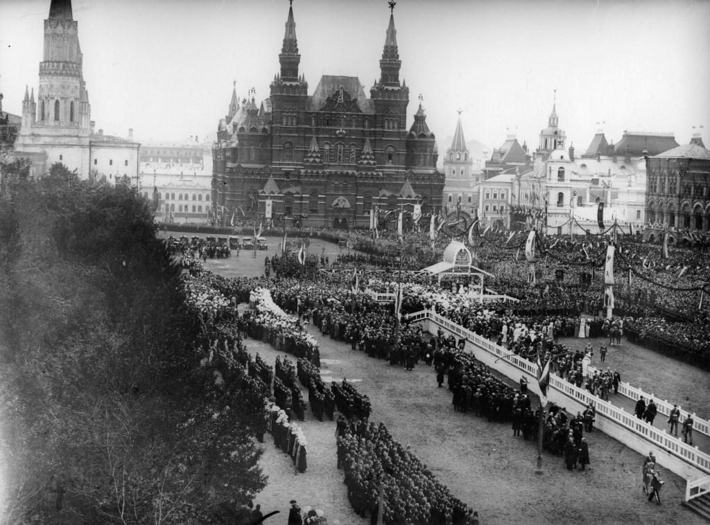 Москва 1912. Торжества по случаю 100-летней годовщины победы над Наполеоном