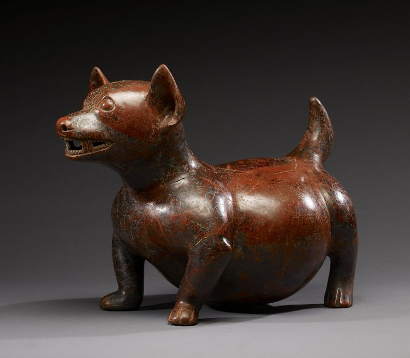 Colima_-_Dog_Effigy_-_Walters_20092051_-_Three_Quarter_Left.jpg