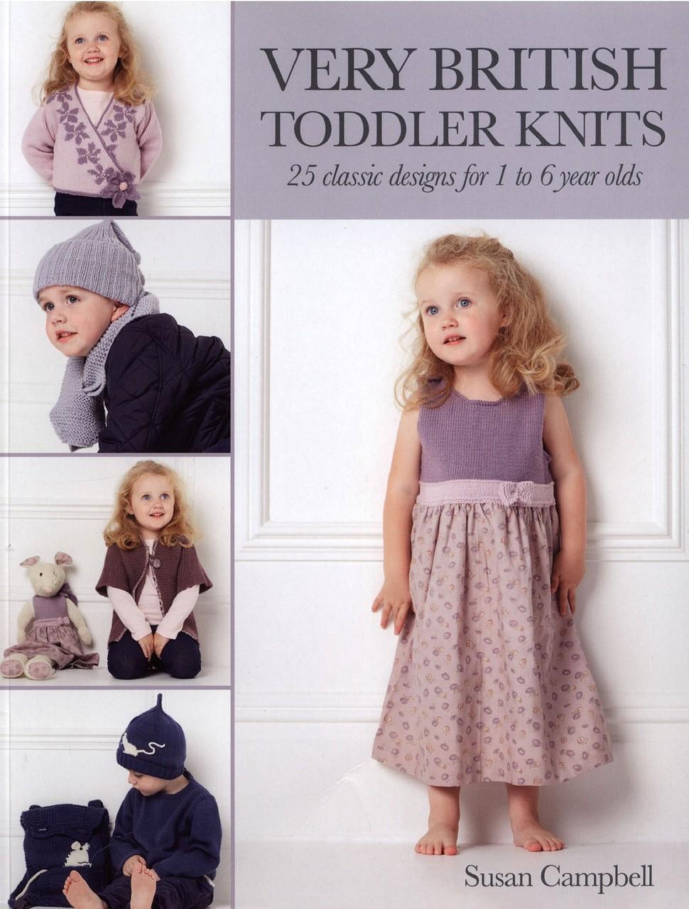 Журнал по вязанию для детей Very British Toddler Knits